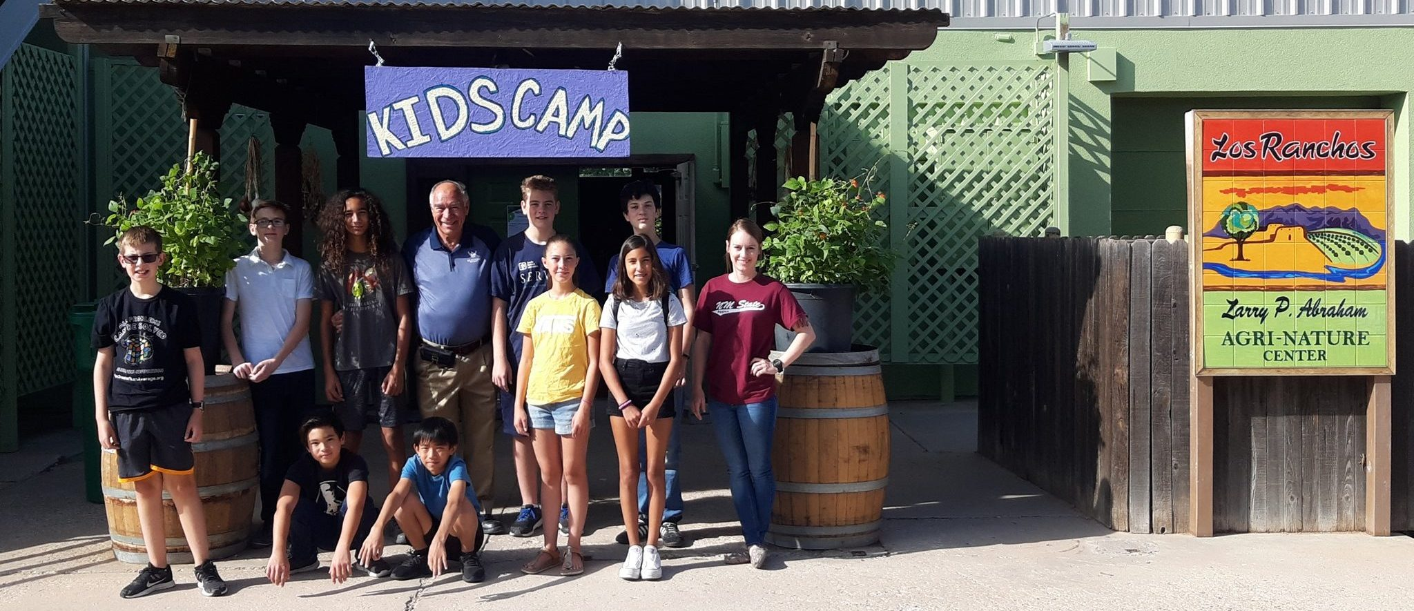 Kid's Camp at the Agra Nature Center