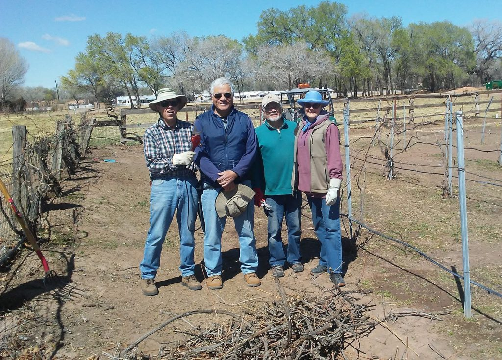 Volunteers at Ag Center
