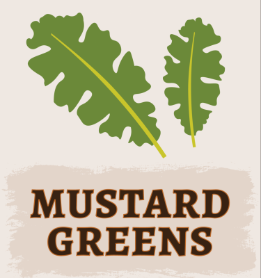 Mustard Greens Illustration