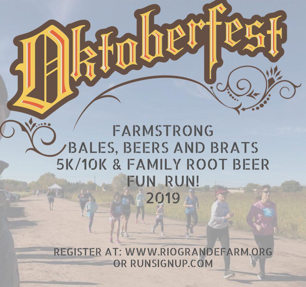 Oktoberfest Farmstrong Bales, Beers & Brats 5k/10k/fun run