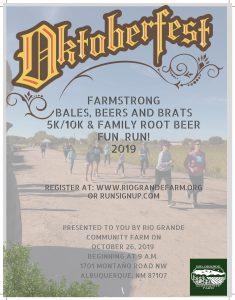 Oktoberfest Farmstrong Bales Brews and Brats flyer