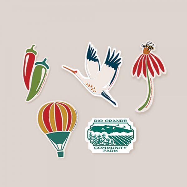 Rio Grande Valley Sticker Pack
